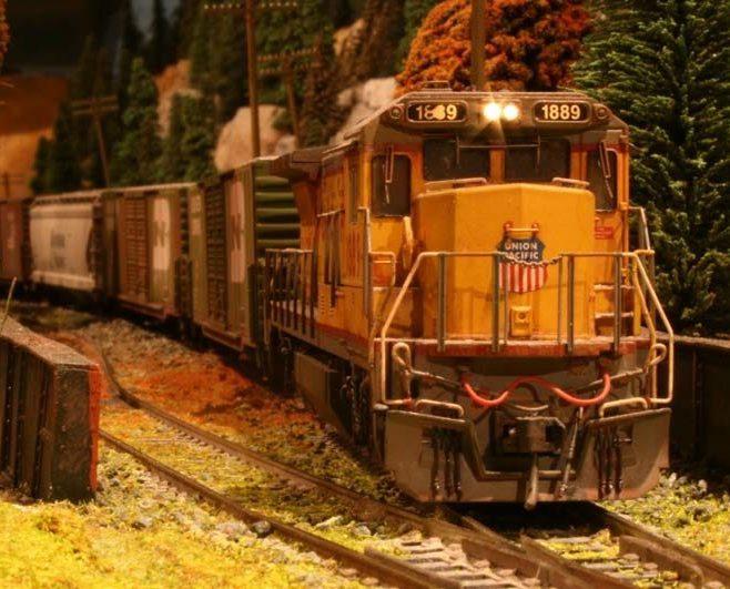 annual train show